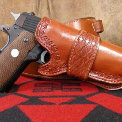 High-ride auto holster